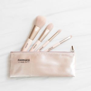 Farmasi Professional Brushes With Zipper Purse for Sale in San Jose, CA