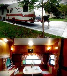 Price:1000$ Gulf Stream Vintage Cruiser Travel-Trailer for Sale in Denton, TX