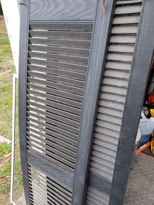 Vinyl exterior shutters (free) for Sale in Weymouth, MA