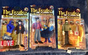 McFarlane Toys Paul McCartney, George Harrison, Ringo Star Yellow Submarine Action Figures for Sale in Woodbridge, VA