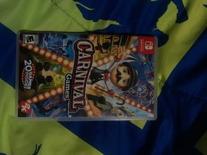 """Carnival games nintendo switch """"PICK UP ONLY"""" for Sale in Las Vegas, NV"""