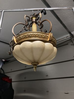 Gold ceiling light fixture for Sale in Tarpon Springs, FL