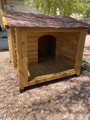 Real wooden dog house for Sale in Las Vegas, NV