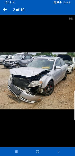 2006 Audi A4 2.0 T Parting Out for Sale in Austell, GA