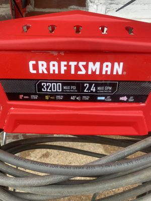 CRAFTSMAN 3200 psi gas pressure washer(new pump) w/Honda motor great condition! for Sale in Philadelphia, PA
