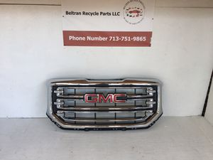 2016 2017 2018 GMC Sierra grille for Sale in Houston, TX