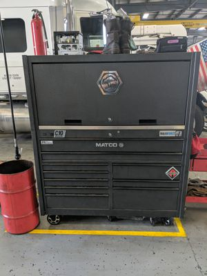 Matco 4s double bank with hutch for Sale in Mt. Juliet, TN
