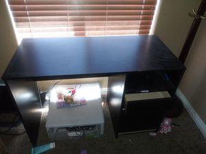 Black desk. Pending pick up for Sale in Las Vegas, NV