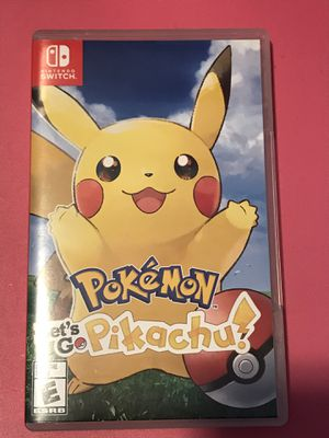 Pokémon :let's Go Pikachu! for Sale in Rowland Heights, CA