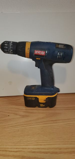 Ryobi Drill with battery and charger for Sale in Woodburn, OR