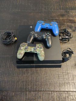 PS4 With Three Controllers And 15 Games for Sale in Mount Prospect,  IL