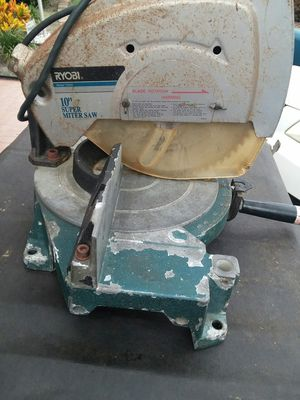 "10"" saw work perfect for Sale in Port Richey, FL"