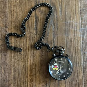 Disney Limitted Edition Steel Pocket Watch for Sale in Fairfield, CA