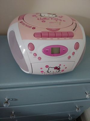 Hello Kitty cd radio for Sale in Lakewood, OH