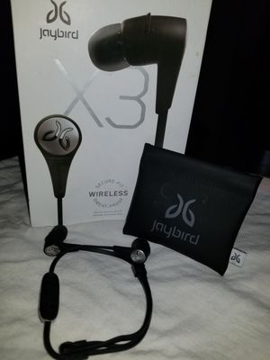 Jaybird X3 wireless bluetooth earbuds for Sale in San Antonio, TX