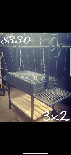 3x2 Heavy duty bbq grill for Sale in Visalia, CA