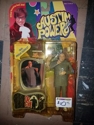 Austin Powers Dr Evil new in box action figure collectable for Sale in Parma Heights, OH