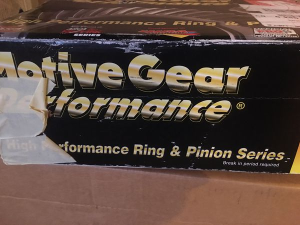 411 ring and pinion for 96 impala ss brand new never used