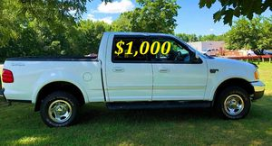 🟢💲1,OOO For sale URGENTLY this Beautiful💚2002 Ford F150 nice Family truck XLT Super Crew Cab 4-Door Runs and drives very smooth V8🟢 for Sale in Lauderhill, FL