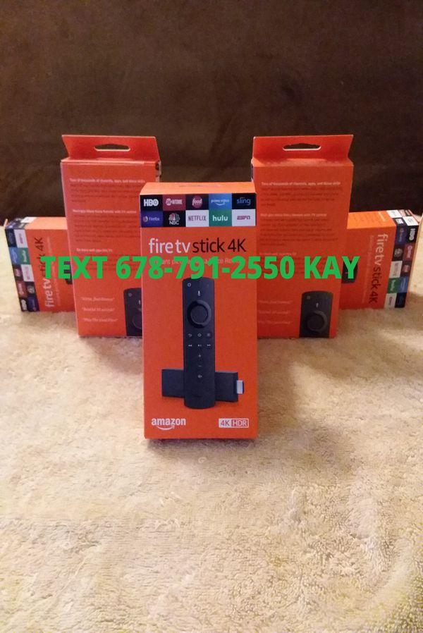 All New 4K HDR Unlocked Amazon Fire TV Stick w/ Voice+Volume Remote