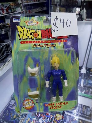 Dragonball z super saiyan vegeta action figures for Sale in Pearland, TX