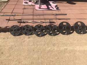 Weider weight set for Sale in Hesperia, CA