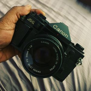 1978 Original A-1 Canon Camera with 50 mm 1 :1.8 lens. for Sale in Hollywood, FL