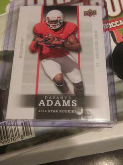 2014 UPPER DECK DAVANTE ADAMS STAR ROOKIE CARD for Sale in Las Vegas,  NV