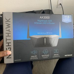 Nighthawk AX4 AX3000 Wifi 6 Router , Much Better Than Routers Provided By Your ISP Company for Sale in Tampa, FL