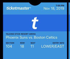 Phoenix Suns vs. Boston Celtics for Sale in Peoria, AZ