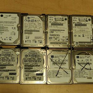 "IDE 2.5"" Laptop Hard Drives Lot Of 8. See Pics For Details for Sale in Suwanee, GA"