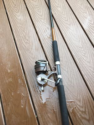 Fishing rod and reel for Sale in Bolton, CT