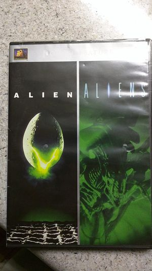 Alien/Aliens DVD double feature for Sale in Tampa, FL