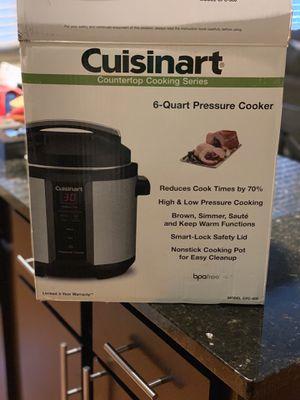 Cuisinart 6qt pressure cooker for Sale in Austin, TX