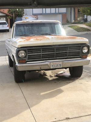 1969 Ford Ranger F-250 long bed for Sale in Wildomar, CA