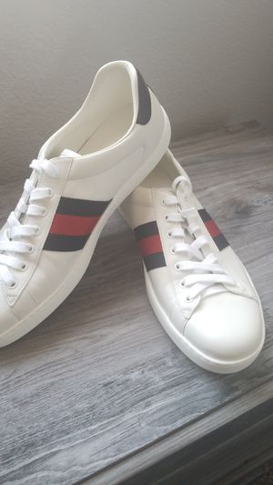 Gucci Blue Red Blue Ace Sneakers 11.5 Brand New for Sale in Las Vegas, NV