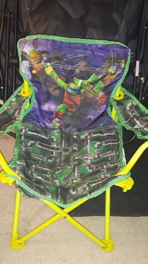 TMNT kids chair fold up for Sale in Baltimore, MD