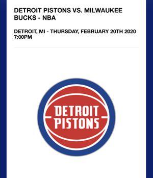 Basketball tickets for Sale in Pontiac, MI