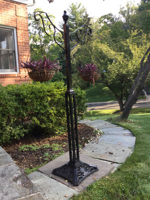 Iron Hanging Plant Stand for Sale in Bethesda, MD