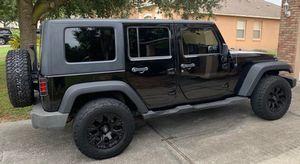 2009 Jeep Wrangler Unlimited X for Sale in Winter Garden, FL