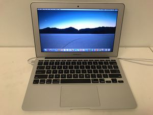 """Macbook air 2015 11"""" i5 8gb ram 128gb ssd latest os mojave ms office movie software to watch free with photoshop with charger for Sale in Houston, TX"""
