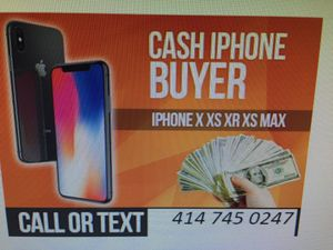 iPhone X for Sale in Milwaukee, WI