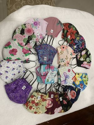 mask with washable filter hialeah gardens for Sale in Hialeah Gardens, FL