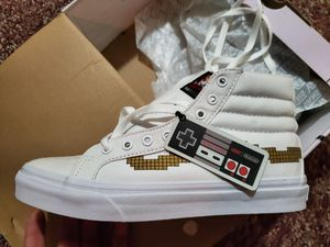 Limited edition Nintendo Super mario Van's size 6y brand new for Sale in East Longmeadow, MA