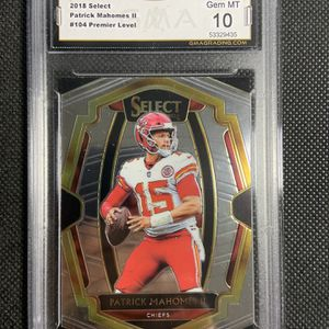 2019 Panini Select Premier Level Patrick Mahomes II Gma 10 Gem Mint Kc Chiefs 🔥🔥🔥 for Sale in Spring Valley, CA