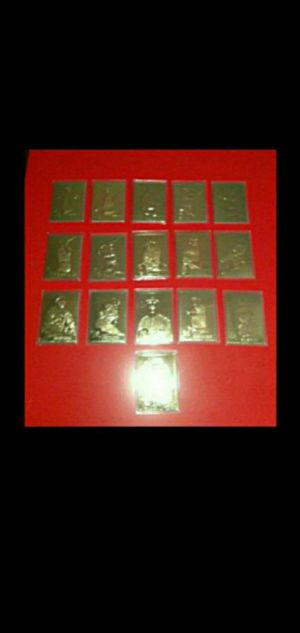 DANBURY MINT SEALED 22KT GOLD BASEBALL CARDS for Sale in Wilmington, CA