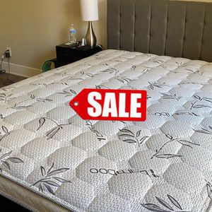 FULL SET ‼️ FULL SIZE MATTRESS AND BOX SPRING FOR ONLY 200 💥 WE CAN DELIVER 🚛 for Sale in Anaheim, CA