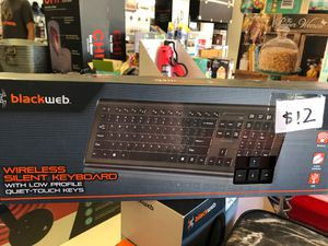 New sealed blackweb wireless silent keyboard for Sale in Houston, TX