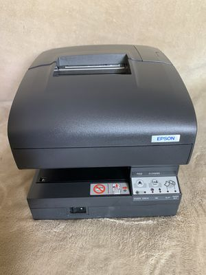 Epson TM-J7100 M184A Receipt Printer With Charger NO INK. for Sale in Los Angeles, CA