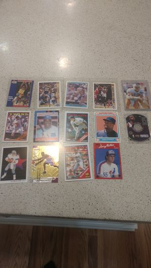 Baseball/football cards 80$ for all or 10 bucks for 1 for Sale in Monroe, WA